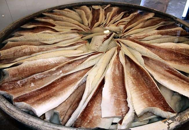 Lipeäkalan valmistus