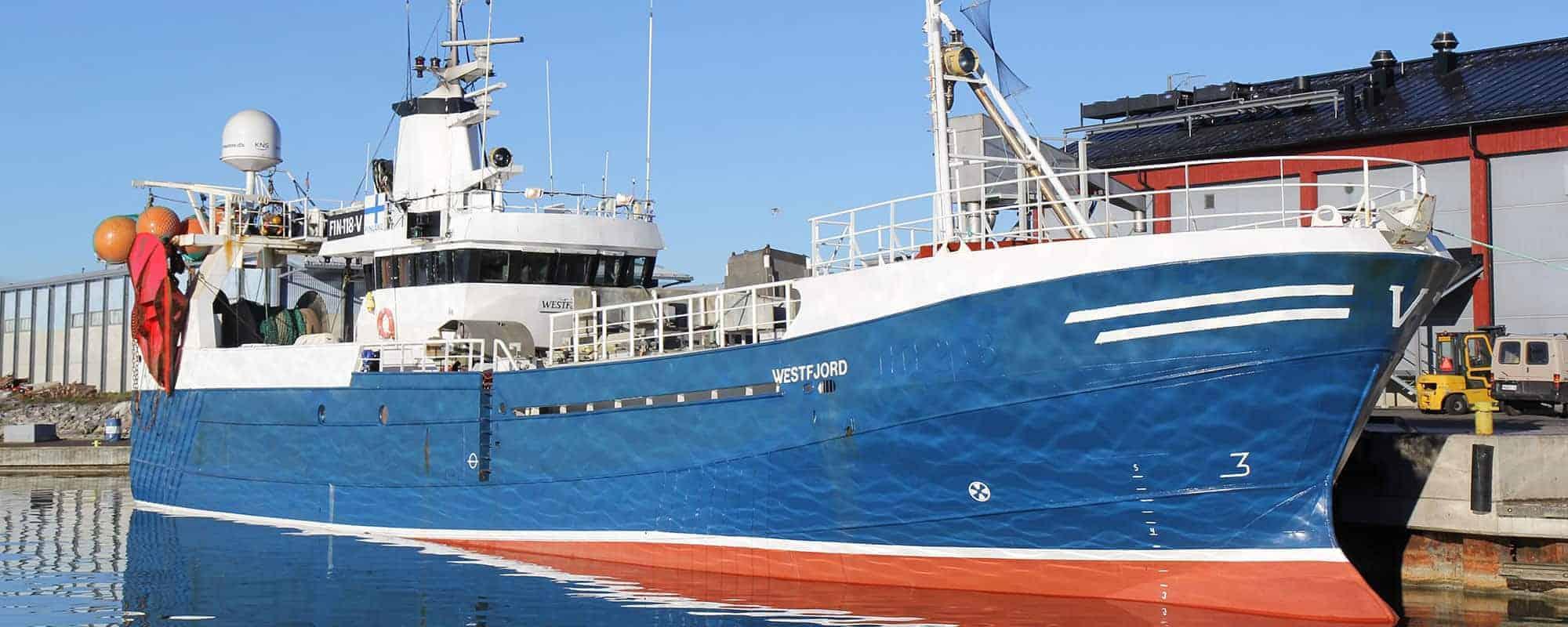 Kalastusalus Westfjord