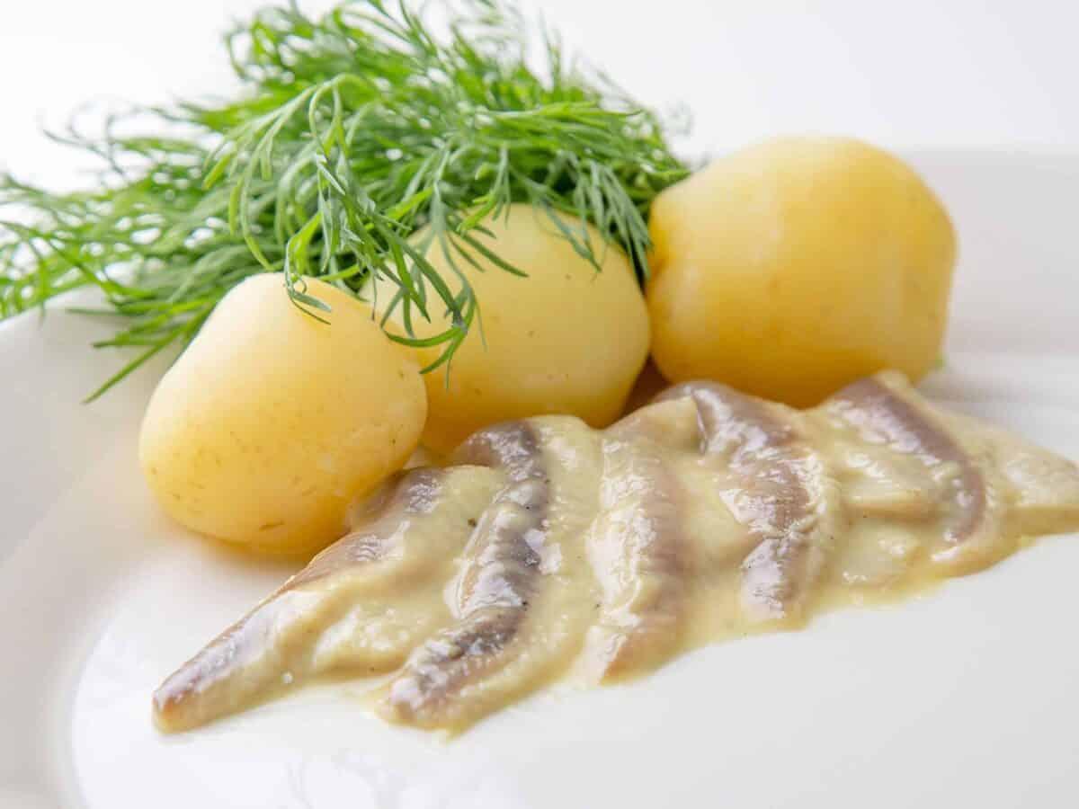 Sinappisilakka ja uudet perunat