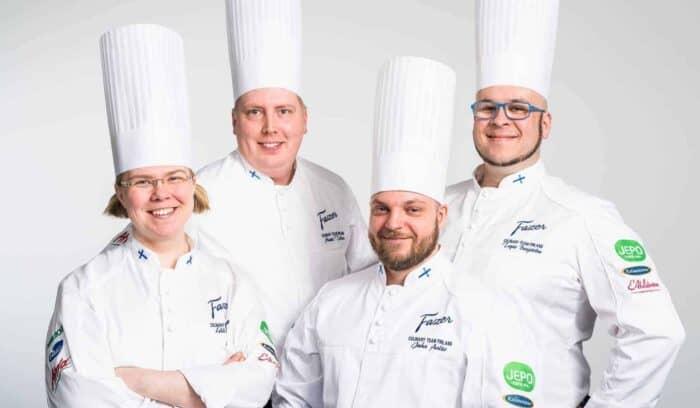 Kalaneuvos sponsoroi kokkiolympialaiset Fazer Culinary Team Finland