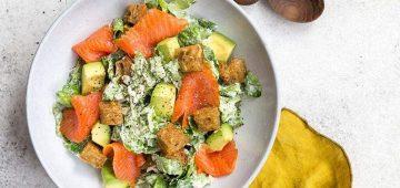 Caesarsalaatti resepti