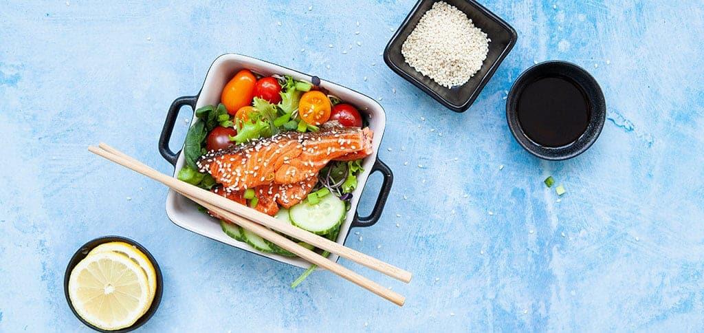 Kalasalaatti japanilaistyyliin resepti