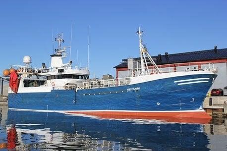 Silakan kalastusalus Westfjord