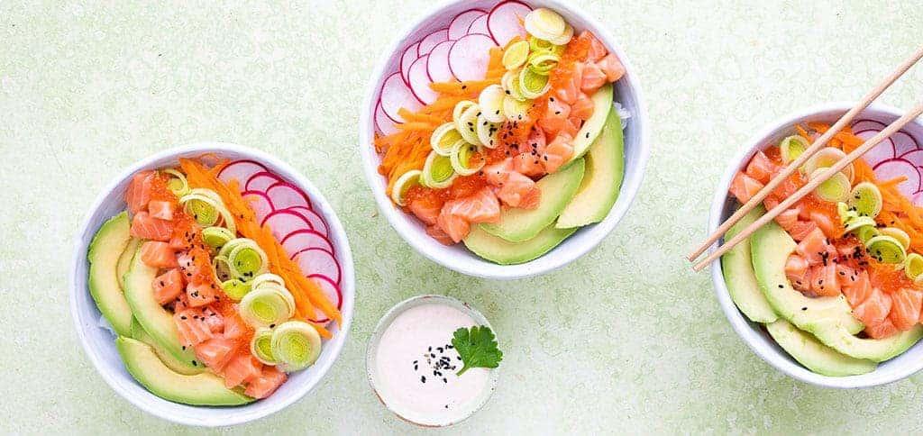 Sushi kulho resepti