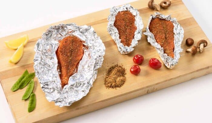 Kalan grillaus - lohen grillaaminen