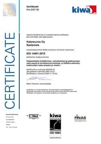 ISO14001 Kalaneuvos