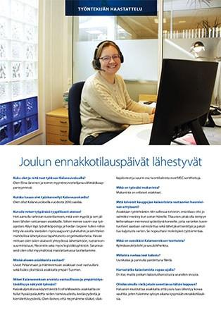 Elina Järvisen haastattelu