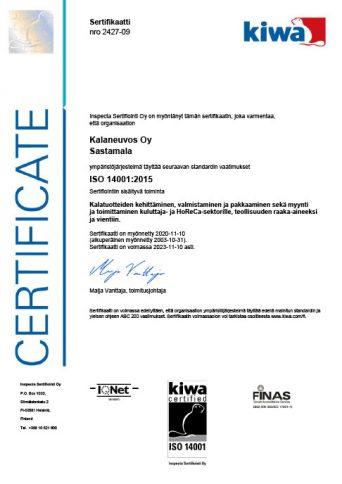 ISO 14001 Kalaneuvos