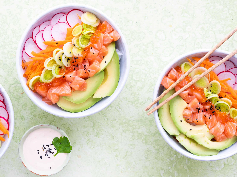 Sushi kulhossa uusi vuosi menu